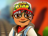 Игра Тату на лице Subway Surfers